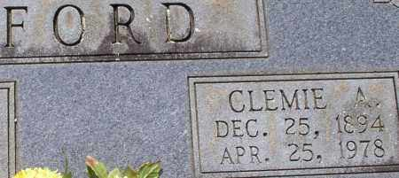 NORMAN FORD, CLEMIE ALICE (CLOSE UP) - Garland County, Arkansas | CLEMIE ALICE (CLOSE UP) NORMAN FORD - Arkansas Gravestone Photos