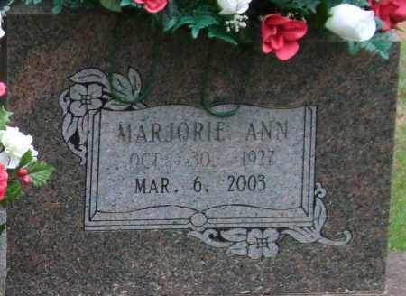 FORD, MARJORIE ANN (CLOSE UP) - Garland County, Arkansas | MARJORIE ANN (CLOSE UP) FORD - Arkansas Gravestone Photos