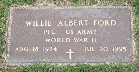"FORD (VETERAN WWII), WILLIAM ALBERT ""WILLIE"" ""BILL"" - Garland County, Arkansas 