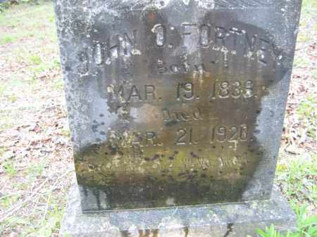 FORTNEY (VETERAN UNION), JOHN O. - Garland County, Arkansas | JOHN O. FORTNEY (VETERAN UNION) - Arkansas Gravestone Photos