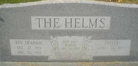 HELMS, REV., FRANKIE - Garland County, Arkansas | FRANKIE HELMS, REV. - Arkansas Gravestone Photos