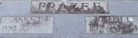FRAZEE, JOSEPH L. (CLOSE UP) - Garland County, Arkansas | JOSEPH L. (CLOSE UP) FRAZEE - Arkansas Gravestone Photos