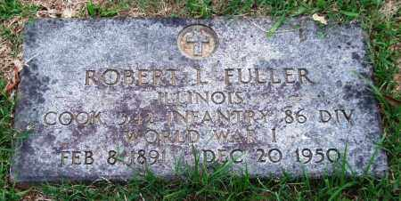 FULLER (VETERAN WWI), ROBERT L. - Garland County, Arkansas | ROBERT L. FULLER (VETERAN WWI) - Arkansas Gravestone Photos