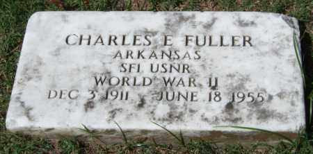 FULLER (VETERAN WWII), CHARLES E. - Garland County, Arkansas | CHARLES E. FULLER (VETERAN WWII) - Arkansas Gravestone Photos