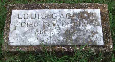 GAGNON, LOUIS - Garland County, Arkansas | LOUIS GAGNON - Arkansas Gravestone Photos