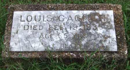 GAGNON, LOUIS - Garland County, Arkansas   LOUIS GAGNON - Arkansas Gravestone Photos