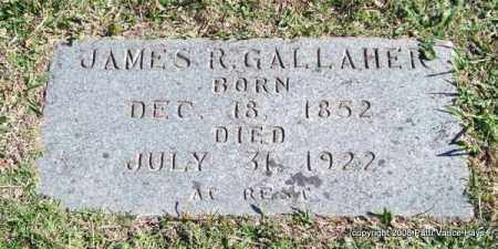 GALLAHER, JAMES R. - Garland County, Arkansas | JAMES R. GALLAHER - Arkansas Gravestone Photos