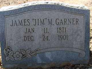 "GARNER, JAMES ""JIM"" M. - Garland County, Arkansas 