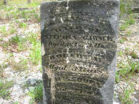 GARNER, MARY A.E. - Garland County, Arkansas | MARY A.E. GARNER - Arkansas Gravestone Photos