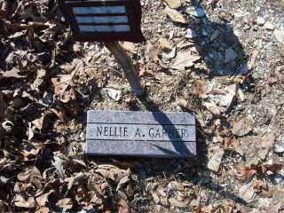 GARNER, NELLIE A. - Garland County, Arkansas | NELLIE A. GARNER - Arkansas Gravestone Photos