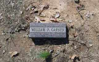 GARNER, WILLIAM P. - Garland County, Arkansas | WILLIAM P. GARNER - Arkansas Gravestone Photos