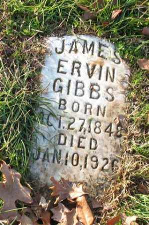 GIBBS, JAMES ERVIN - Garland County, Arkansas | JAMES ERVIN GIBBS - Arkansas Gravestone Photos