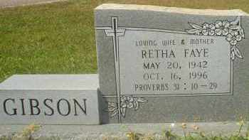 ROSS GIBSON, RETHA FAYE - Garland County, Arkansas | RETHA FAYE ROSS GIBSON - Arkansas Gravestone Photos