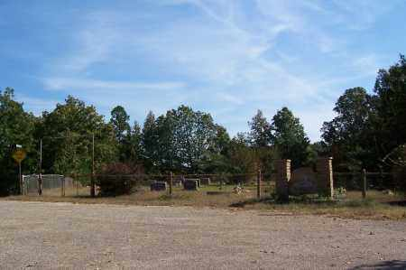 *GLAZIER PEAU CEMETERY, OVERVIEW - Garland County, Arkansas | OVERVIEW *GLAZIER PEAU CEMETERY - Arkansas Gravestone Photos