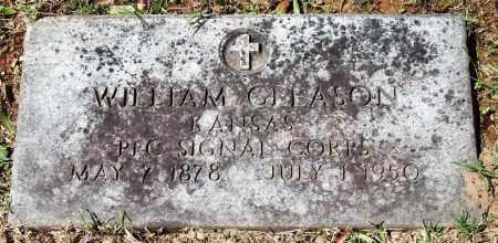 GLEASON (VETERAN), WILLIAM - Garland County, Arkansas | WILLIAM GLEASON (VETERAN) - Arkansas Gravestone Photos