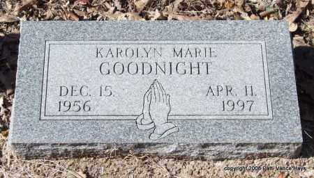 GOODNIGHT, KAROLYN MARIE - Garland County, Arkansas | KAROLYN MARIE GOODNIGHT - Arkansas Gravestone Photos