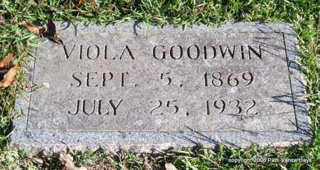 GOODWIN, VIOLA - Garland County, Arkansas | VIOLA GOODWIN - Arkansas Gravestone Photos