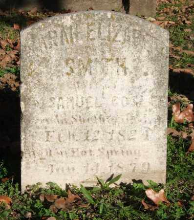 SMITH GOSLEE, SARAH ELIZABETH - Garland County, Arkansas | SARAH ELIZABETH SMITH GOSLEE - Arkansas Gravestone Photos