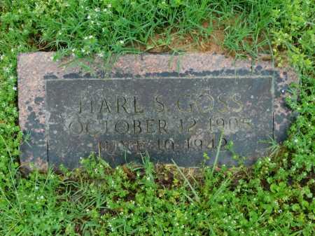 GOSS, HARL S. - Garland County, Arkansas   HARL S. GOSS - Arkansas Gravestone Photos