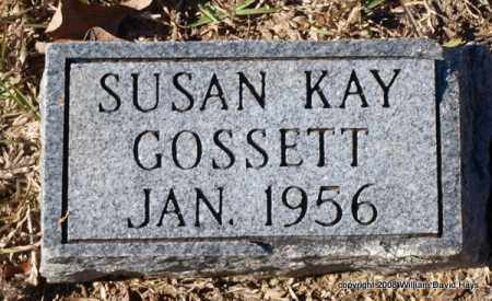 GOSSETT, SUSAN KAY - Garland County, Arkansas | SUSAN KAY GOSSETT - Arkansas Gravestone Photos