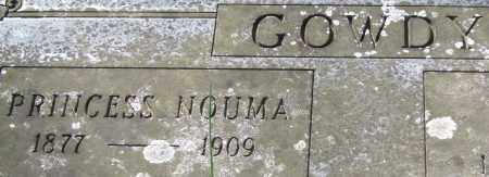 GOWDY, PRINCESS NOUMA - Garland County, Arkansas | PRINCESS NOUMA GOWDY - Arkansas Gravestone Photos