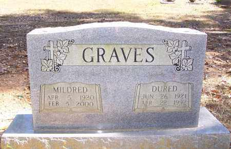 GRAVES, DURED - Garland County, Arkansas | DURED GRAVES - Arkansas Gravestone Photos