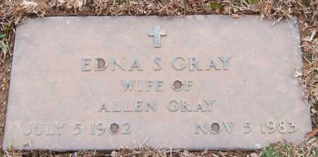 GRAY, EDNA S. - Garland County, Arkansas | EDNA S. GRAY - Arkansas Gravestone Photos