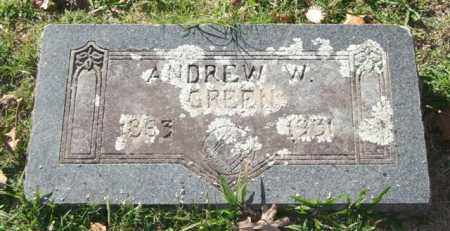 GREEN, ANDREW W. - Garland County, Arkansas | ANDREW W. GREEN - Arkansas Gravestone Photos