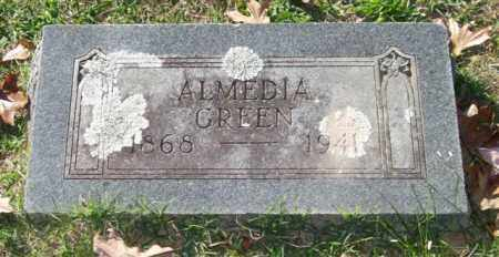 GREEN, ALMEDIA - Garland County, Arkansas | ALMEDIA GREEN - Arkansas Gravestone Photos