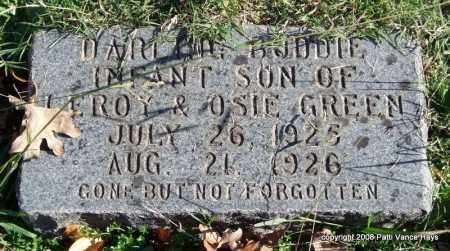 GREEN, BUDDIE - Garland County, Arkansas | BUDDIE GREEN - Arkansas Gravestone Photos