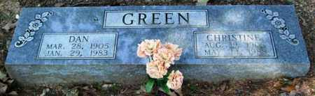 GREEN, CHRISTINE - Garland County, Arkansas | CHRISTINE GREEN - Arkansas Gravestone Photos