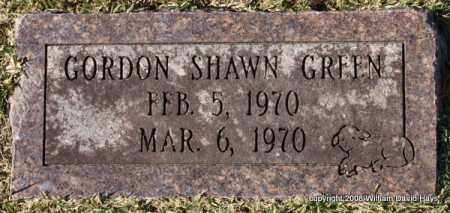 GREEN, GORDON SHAWN - Garland County, Arkansas | GORDON SHAWN GREEN - Arkansas Gravestone Photos