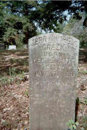 GREEN, JERRY VIRGIS - Garland County, Arkansas | JERRY VIRGIS GREEN - Arkansas Gravestone Photos