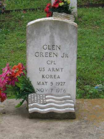 GREEN, JR (VETERAN KOR), GLEN - Garland County, Arkansas | GLEN GREEN, JR (VETERAN KOR) - Arkansas Gravestone Photos