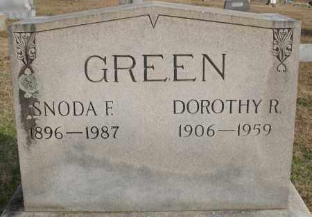 GREEN, DOROTHY R. - Garland County, Arkansas | DOROTHY R. GREEN - Arkansas Gravestone Photos