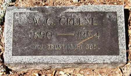 GREENE, W. G. - Garland County, Arkansas | W. G. GREENE - Arkansas Gravestone Photos