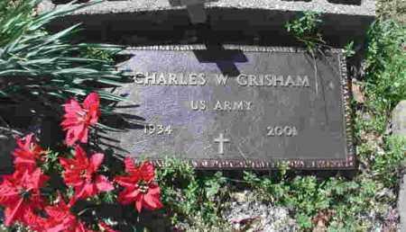GRISHAM (VETERAN), CHARLES W. - Garland County, Arkansas | CHARLES W. GRISHAM (VETERAN) - Arkansas Gravestone Photos