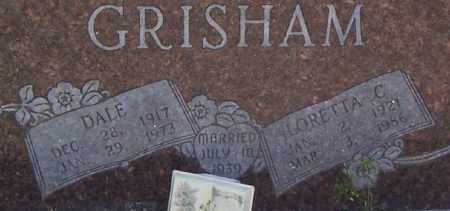 GRISHAM, LORETTA C. (CLOSE UP) - Garland County, Arkansas | LORETTA C. (CLOSE UP) GRISHAM - Arkansas Gravestone Photos