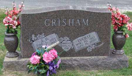 GRISHAM, LUCILLE - Garland County, Arkansas | LUCILLE GRISHAM - Arkansas Gravestone Photos