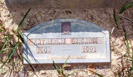 GRISHAM, KATHERINE - Garland County, Arkansas | KATHERINE GRISHAM - Arkansas Gravestone Photos