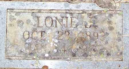 GRISHAM, LONIE J. (CLOSE UP) - Garland County, Arkansas | LONIE J. (CLOSE UP) GRISHAM - Arkansas Gravestone Photos