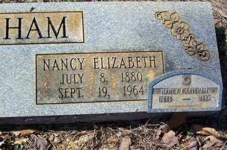 GRISHAM, NANCY ELIZABETH (CLOSE UP) - Garland County, Arkansas | NANCY ELIZABETH (CLOSE UP) GRISHAM - Arkansas Gravestone Photos
