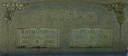 GRISHAM, RAYMOND A. (CLOSE UP) - Garland County, Arkansas | RAYMOND A. (CLOSE UP) GRISHAM - Arkansas Gravestone Photos