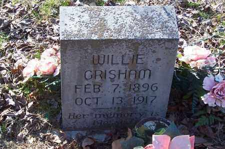 GRISHAM, WILLIE - Garland County, Arkansas | WILLIE GRISHAM - Arkansas Gravestone Photos