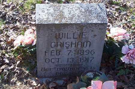 GRISHAM, WILLIE - Garland County, Arkansas   WILLIE GRISHAM - Arkansas Gravestone Photos