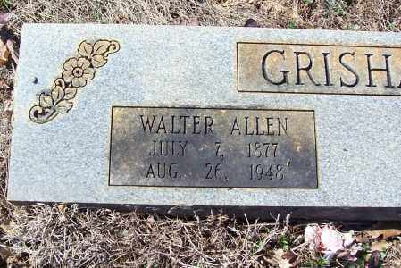 GRISHAM, WALTER ALLEN (CLOSE UP) - Garland County, Arkansas | WALTER ALLEN (CLOSE UP) GRISHAM - Arkansas Gravestone Photos