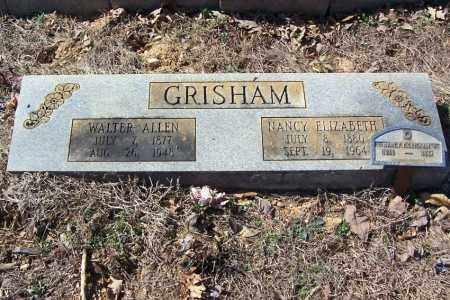 GRISHAM, NANCY ELIZABETH - Garland County, Arkansas | NANCY ELIZABETH GRISHAM - Arkansas Gravestone Photos