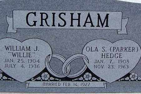 "GRISHAM, WILLIAM J. ""WILLIE"" (CLOSE UP) - Garland County, Arkansas 