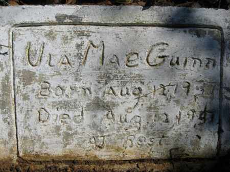 GUINN, ULA MAE (FOOTSTONE) - Garland County, Arkansas | ULA MAE (FOOTSTONE) GUINN - Arkansas Gravestone Photos