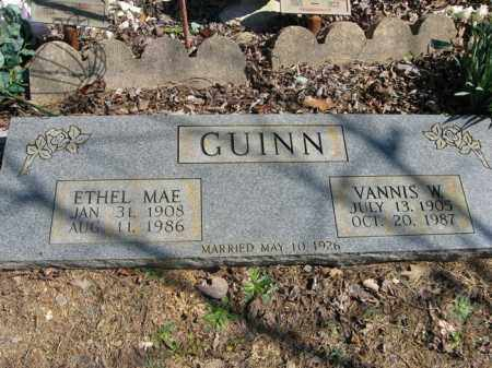 GUINN, ETHEL MAE - Garland County, Arkansas | ETHEL MAE GUINN - Arkansas Gravestone Photos